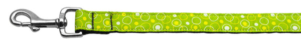 Retro Nylon Ribbon Collar Lime Green 1 Wide Lsh.