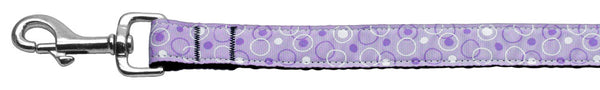 Retro Nylon Ribbon Collar Lavender 1 Wide Lsh.