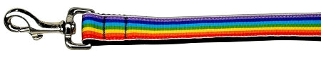 Rainbow Striped Nylon Collars Rainbow Stripes 1 Wide Lsh.