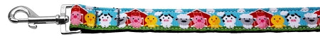 Barnyard Buddies Nylon Ribbon Collars 1 Wide Leash.