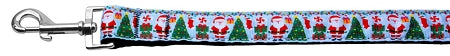 Aqua Santa Nylon Dog Leash Inch Wide Long.