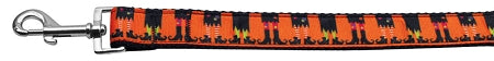 Witches Brew Nylon Ribbon Dog Collars 1 Wide Leash.