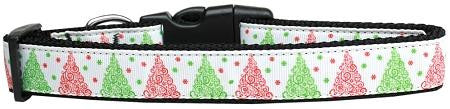 Fancy Schmancy Christmas Tree Nylon Dog Collar