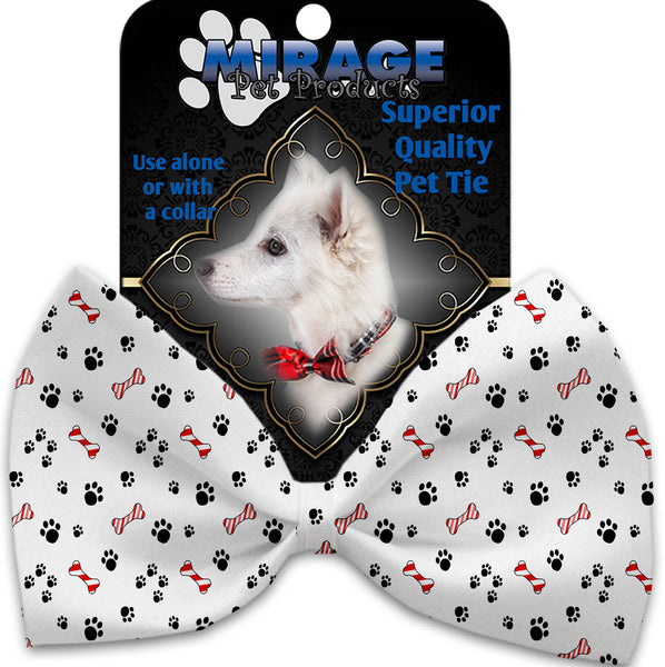 Sweet Paws Pet Bow Tie Collar Accessory With Velcro.