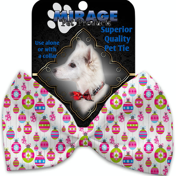 Penelopes Pretty Ornaments Pet Bow Tie Collar Accessory With Velcro.