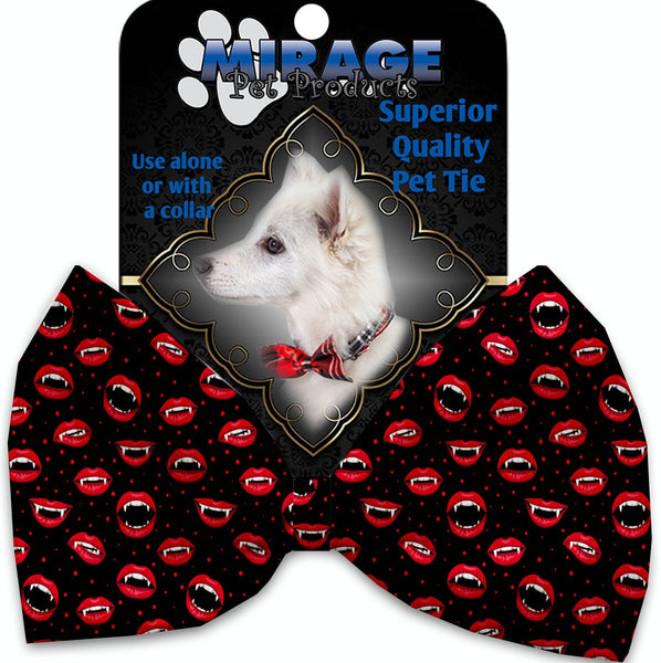 Love Bites Pet Bow Tie Collar Accessory With Velcro