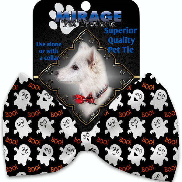 Little Boo Who Pet Bow Tie Collar Accessory With Velcro