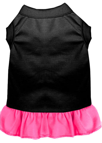 black-with-bright-pink
