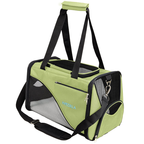 Katziela Soft Sided Pet Carrier.