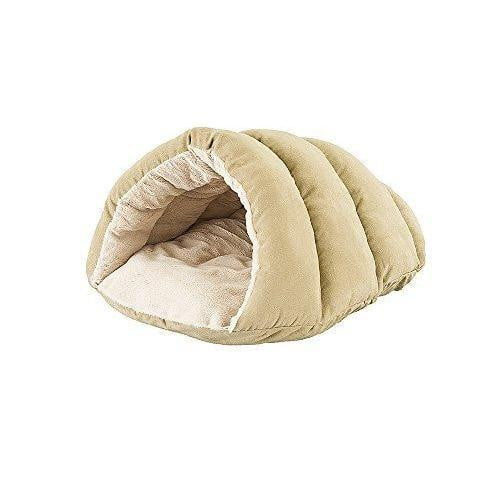 "Ethical Pet Cuddle Cave 22"" Tan."