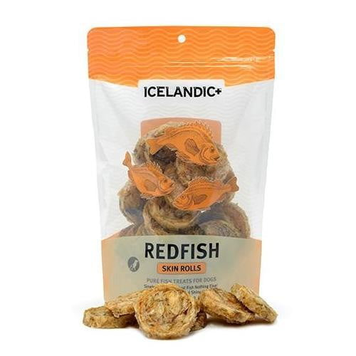 Icelandic+ Redfish Skin Rolls  Single Bag