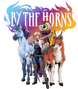 Coming this Winter From Scout Comics, The Epic Fantasy BY THE HORNS
