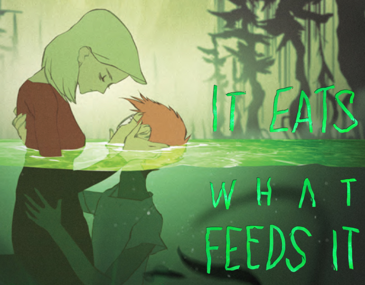 Scout Comics Proudly Presents: IT EATS WHAT FEEDS IT - A New 3 Issue Mini-Series