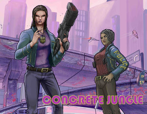 CONCRETE JUNGLE Is Coming This October By Scout Comics