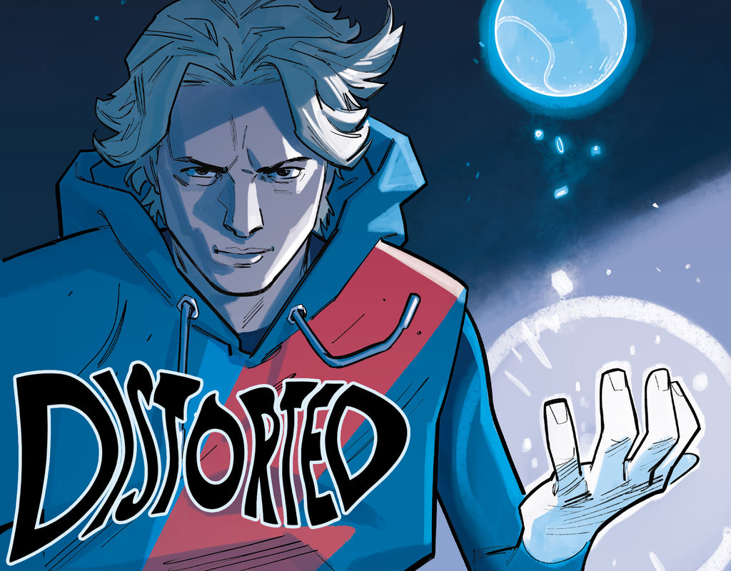 DISTORTED Is Coming This Winter From Scout Comics!