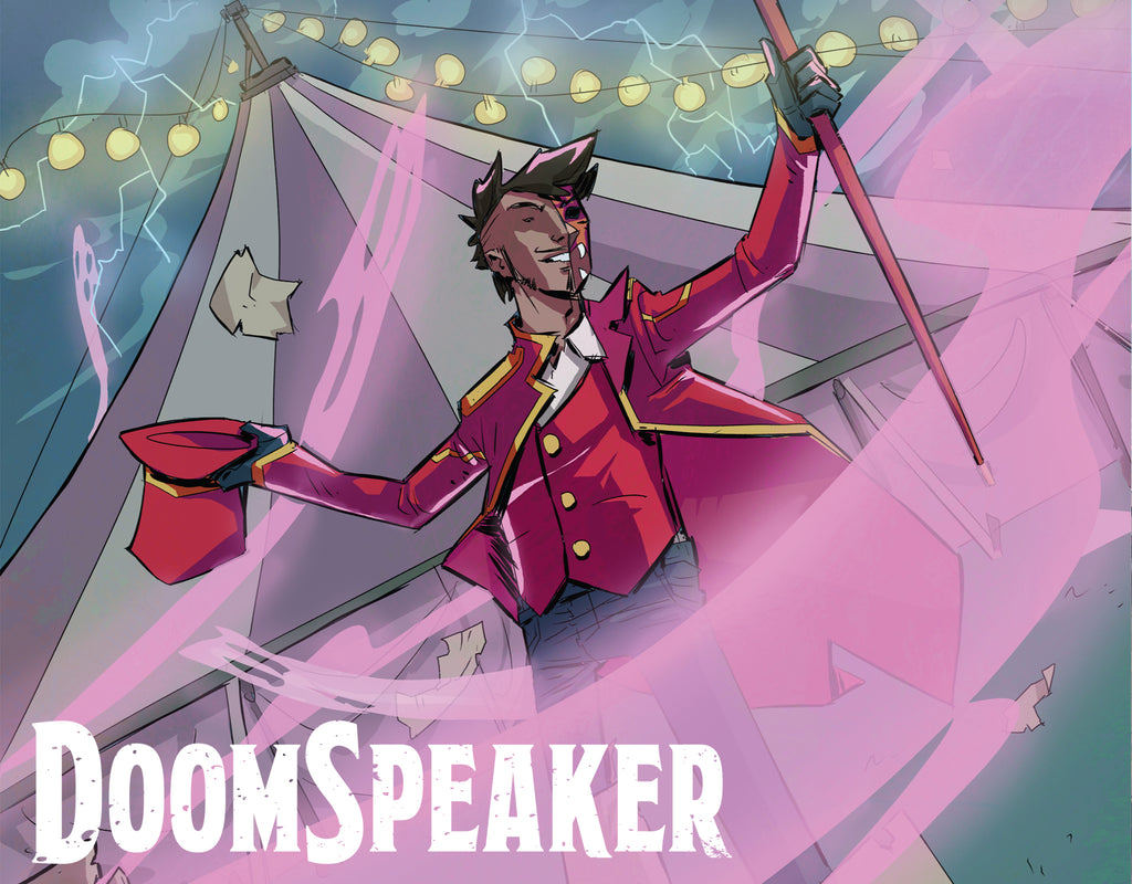 DOOMSPEAKER Is Coming This Winter From SCOUT COMICS!