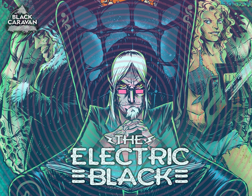 THE ELECTRIC BLACK is now in development as a adult cartoon TV series with STARBURN INDUSTRIES