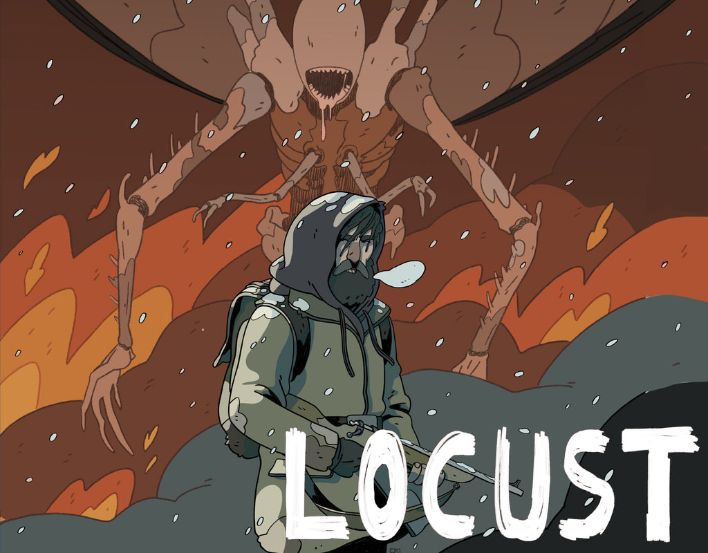 The Post Apocalyptic Thriller LOCUST Is Coming Soon From Scout Comics!