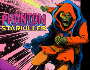 Coming This October From Scout Comics Imprint Black Caravan, PHANTOM STARKILLER