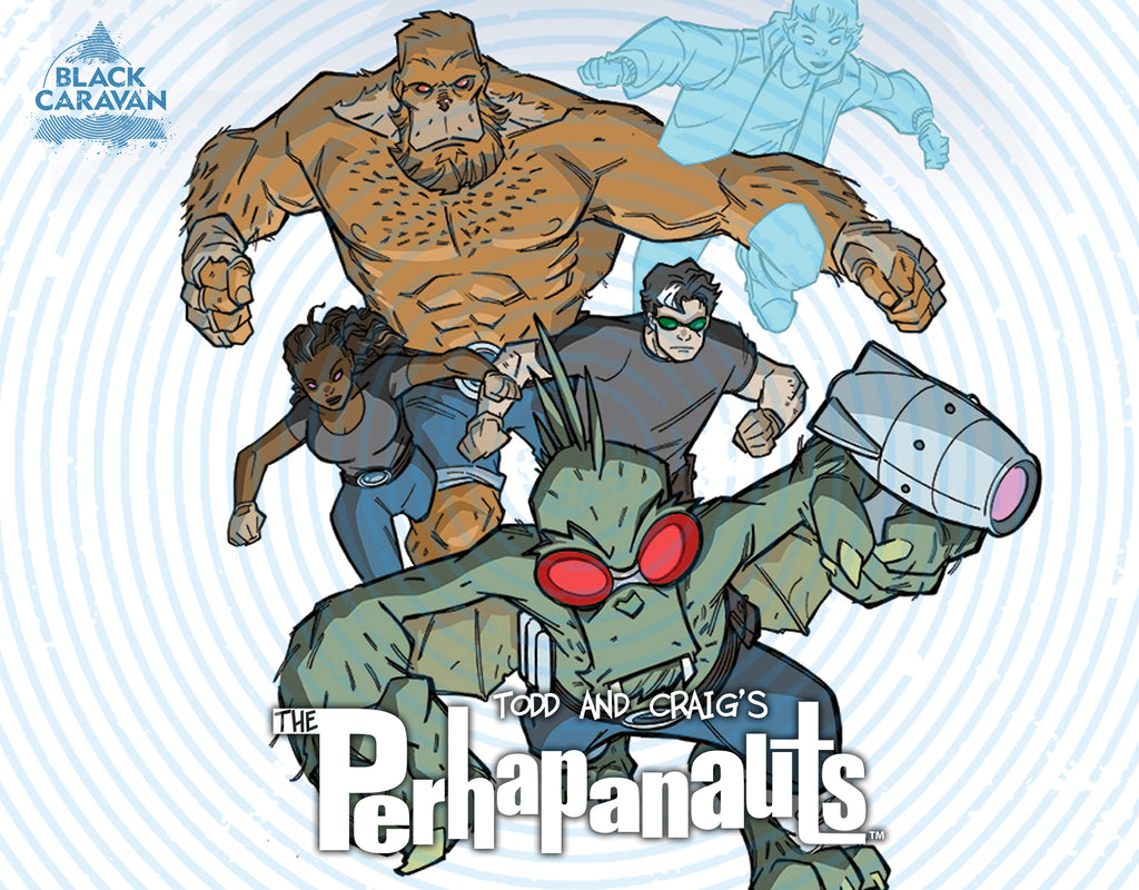 THE PERHAPANAUTS Return In November From The Scout Comics Imprint Black Caravan