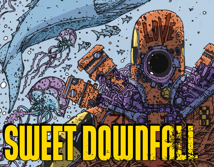 Coming to Scout Comics in late 2020,  SWEETDOWNFALL!