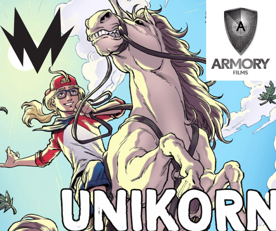 SCOUT COMICS UNIKORN BY ARMORY FILMS AND MOTOR CONTENT TO FEATURE DEBBIE BERMAN DIRECTORIAL DEBUT