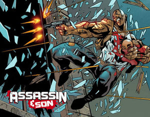Scout Comics Releases Assassin And Son #1 Tribute Variants To Benefit Gaspard Family