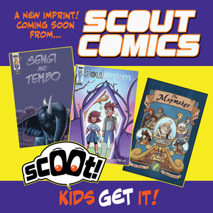 Scout Comics To Launch All Ages Imprint SCOOT in January 2021!