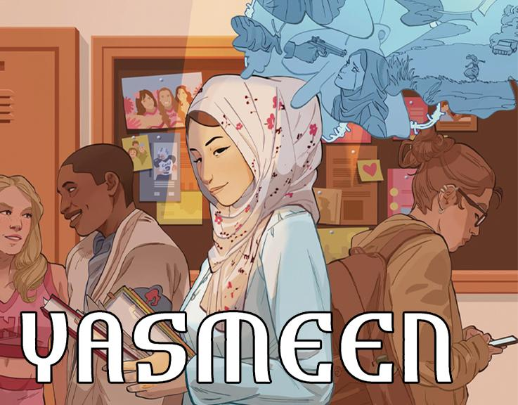 COMING THIS JUNE, The Powerful Story of YASMEEN From SCOUT COMICS!