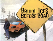 BRIDGE ICES BEFORE ROAD