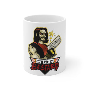Star Bastard (Greeves Design) - 11oz Coffee Mug