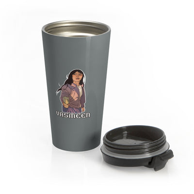 Yasmeen (Yasmeen Design) - Stainless Steel Travel Mug