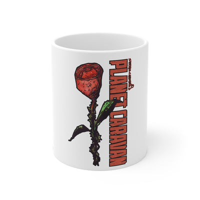 Planet Caravan (Rose Design) - 11oz Coffee Mug