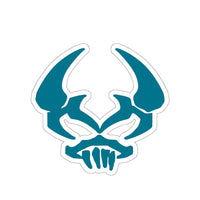 By The Horns (Horn Hunter Symbol) - Kiss-Cut Stickers