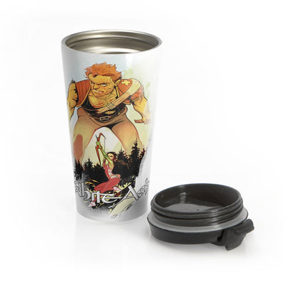 White Ash (Chapter IX Design) - Stainless Steel Travel Mug