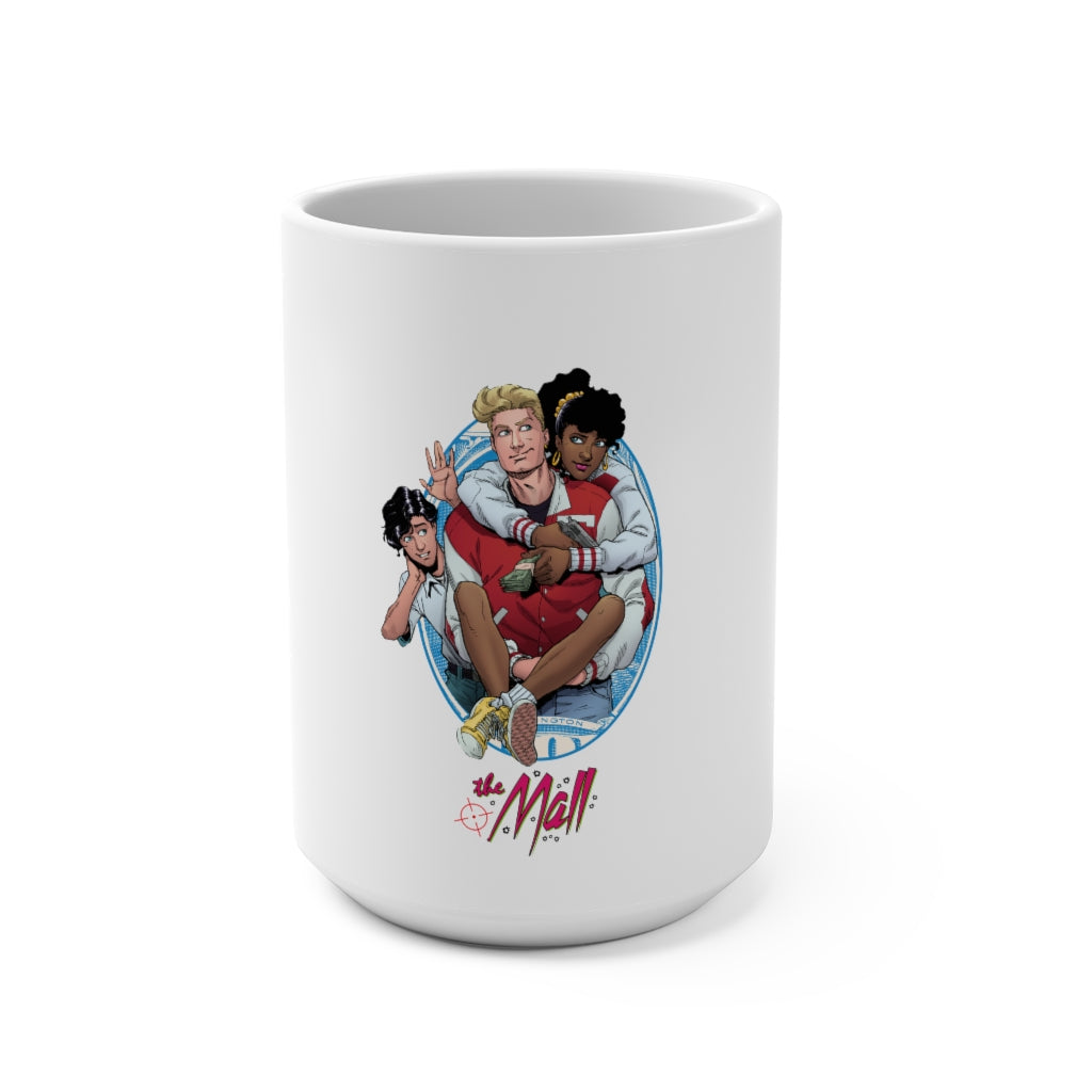 The Mall (Issue 6 Cover Design) -  White Mug 15oz