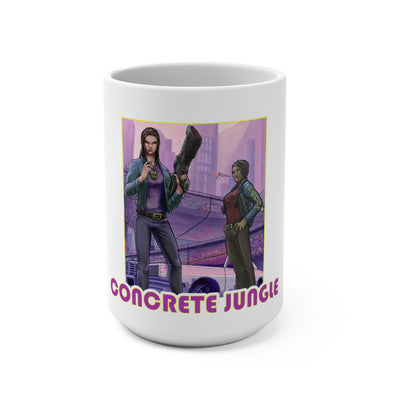 Concrete Jungle (Issue One) - White Coffee Mug 15oz