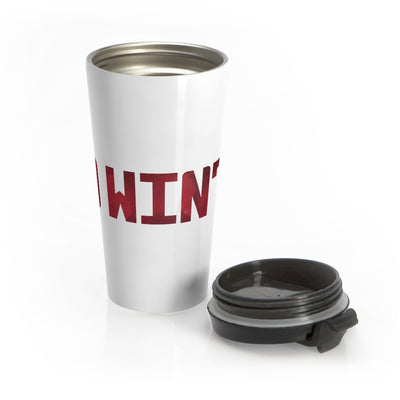 Red Winter (Logo Design) - Stainless Steel Travel Mug