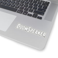 Doom Speaker (Logo) - Kiss-Cut Stickers