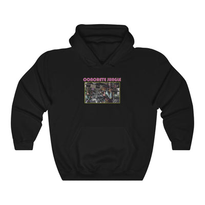 Concrete Jungle (Design One) - Heavy Blend™ Hooded Sweatshirt