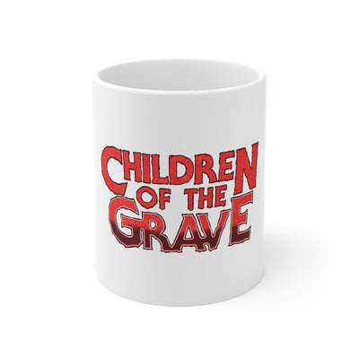 Children Of The Grave (Logo Design) - 11oz Coffee Mug