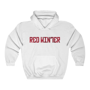 Red Winter (Logo Design)  -  Heavy Blend™ Hooded Sweatshirt