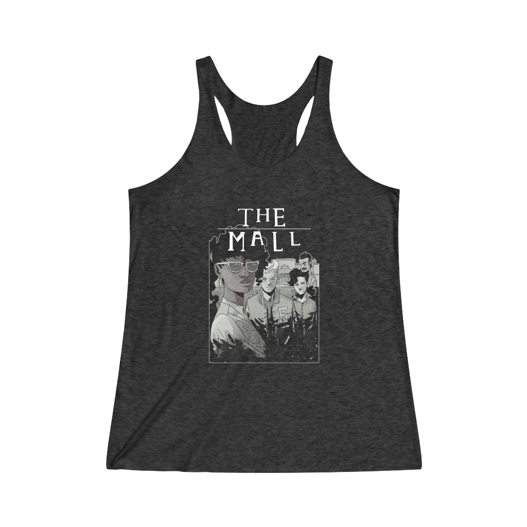 The Mall (Lost Boys Homage Design) - Women's Tri-Blend Racerback Tank