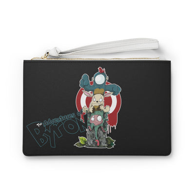 The Adventures of Byron - Logo - Clutch Bag