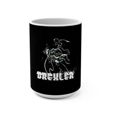 Drexler (Monster Design) - Black Coffee Mug 15oz