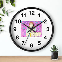 Mullet Cop (Fred Design) - Wall Clock