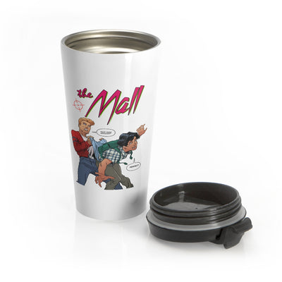 The Mall (Wedgie Design) - Stainless Steel Travel Mug