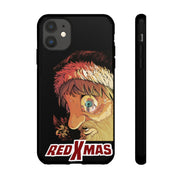 Red XMAS (Issue One Design) - Tough Phone Cases (iPhone & Android)