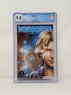 CGC Graded - Mindbender #1 - ComicsPro Exclusive Cover - 9.8