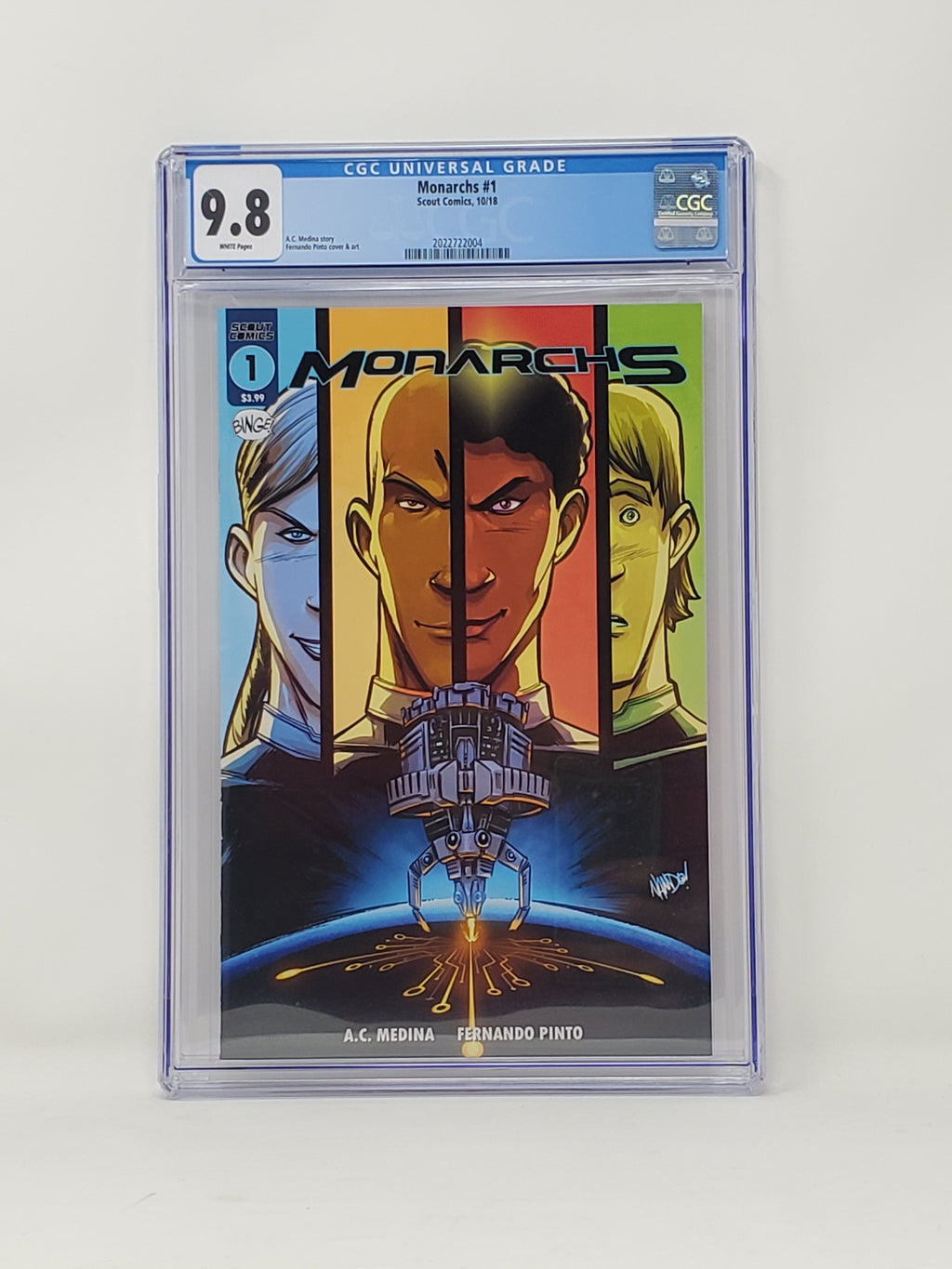 CGC Graded - Monarchs #1 - 9.8